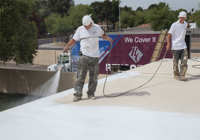benefits of a foam roof