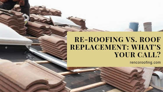 roof replacement, Re-roofing vs. Roof Replacement: What's Your Call?
