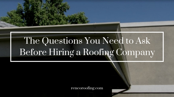 Roofing Company, The Questions You Need to Ask Before Hiring a Roofing Company