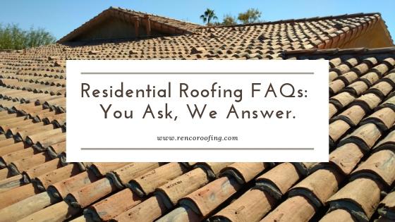 Blog Archives Roof Repair Renco Roofing Phoenix Az