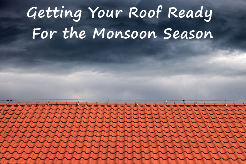 roof ready for the monsoon season