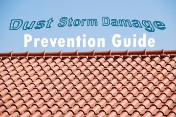 dust storm damage prevention