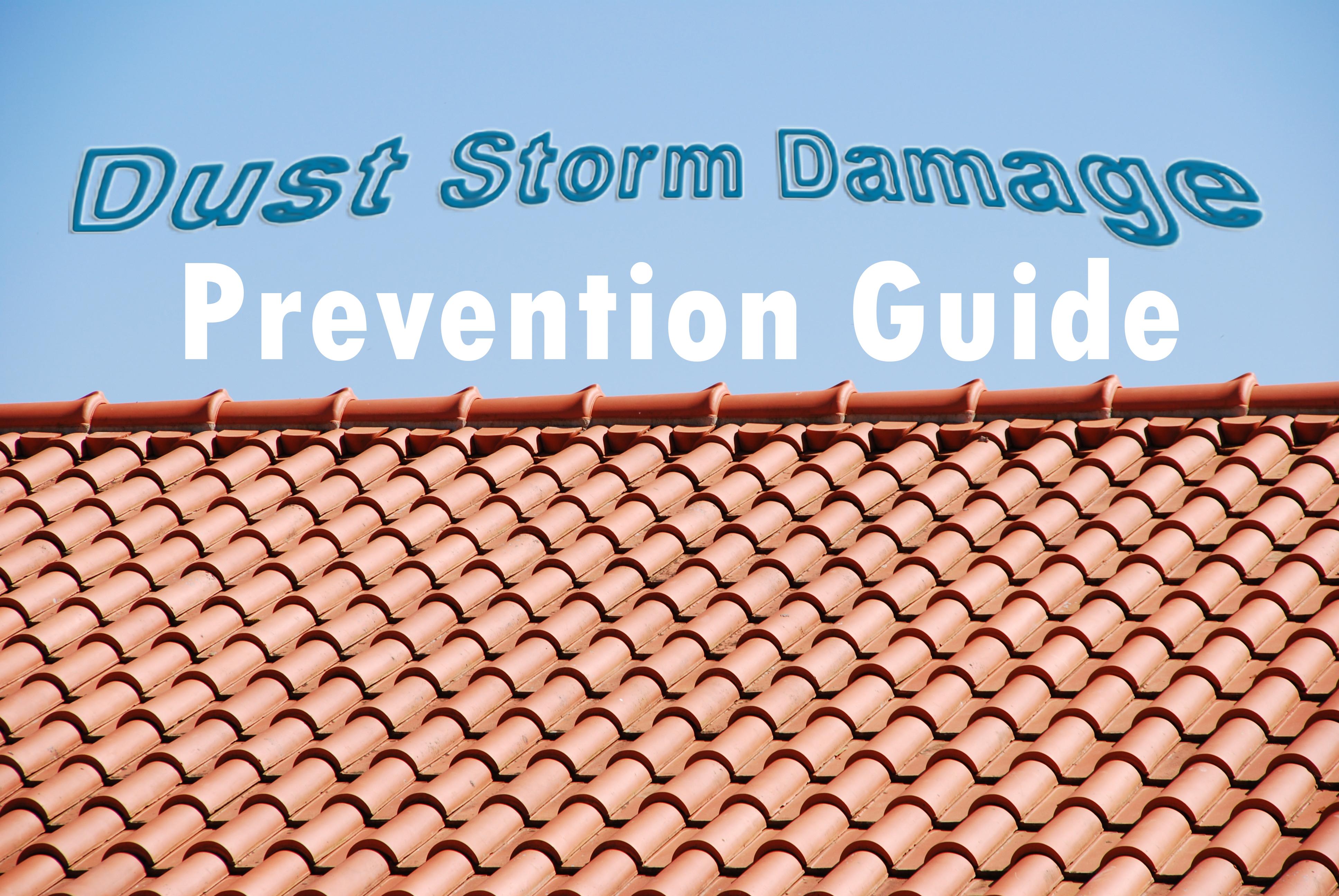 dust storm damage prevention