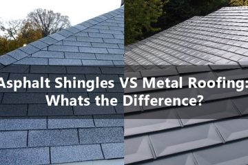 asphalt shingles vs metal roofing