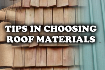 tips on choosing roof materials
