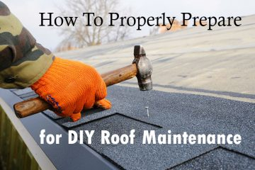 DIY Roof Maintenance