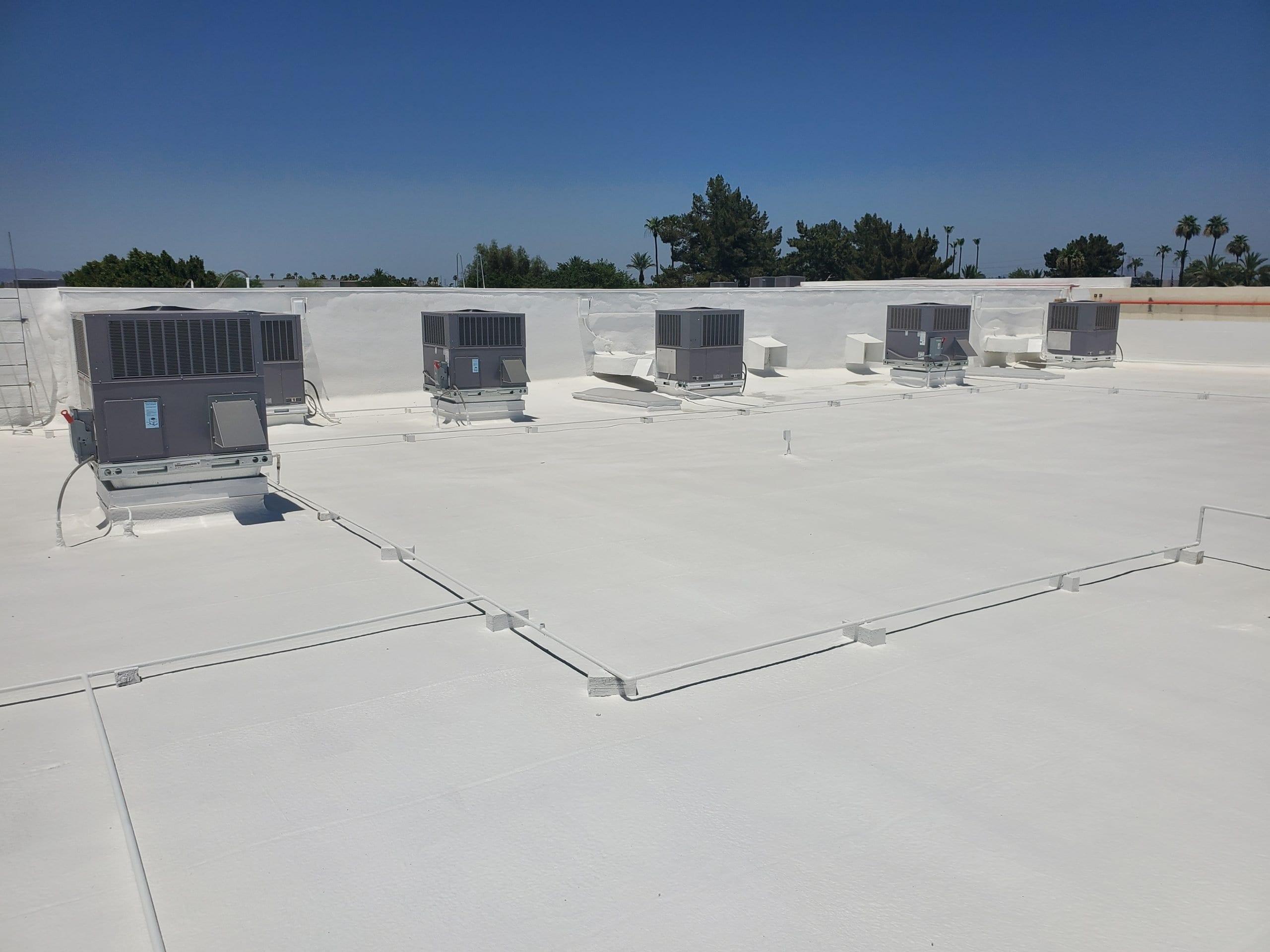 restoration coating commercial roof