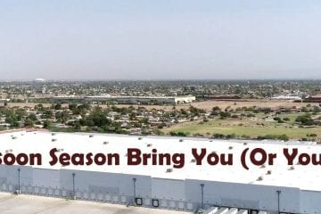 Commercial Roof Monsoon Season
